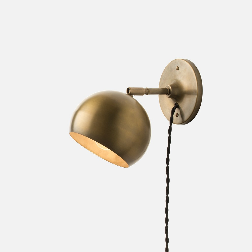 Plug-in sconces