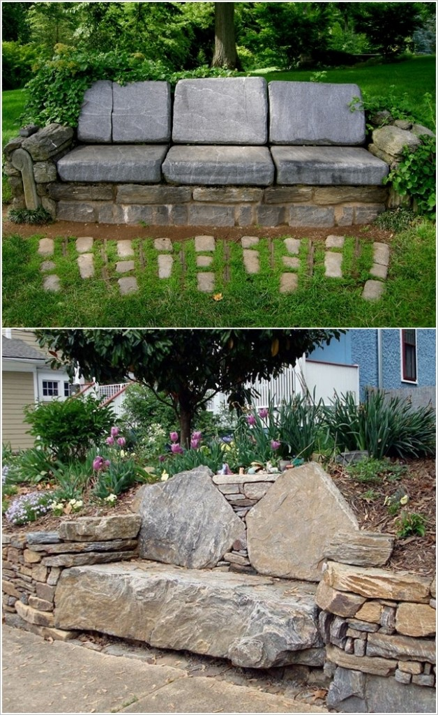 Stone Couch