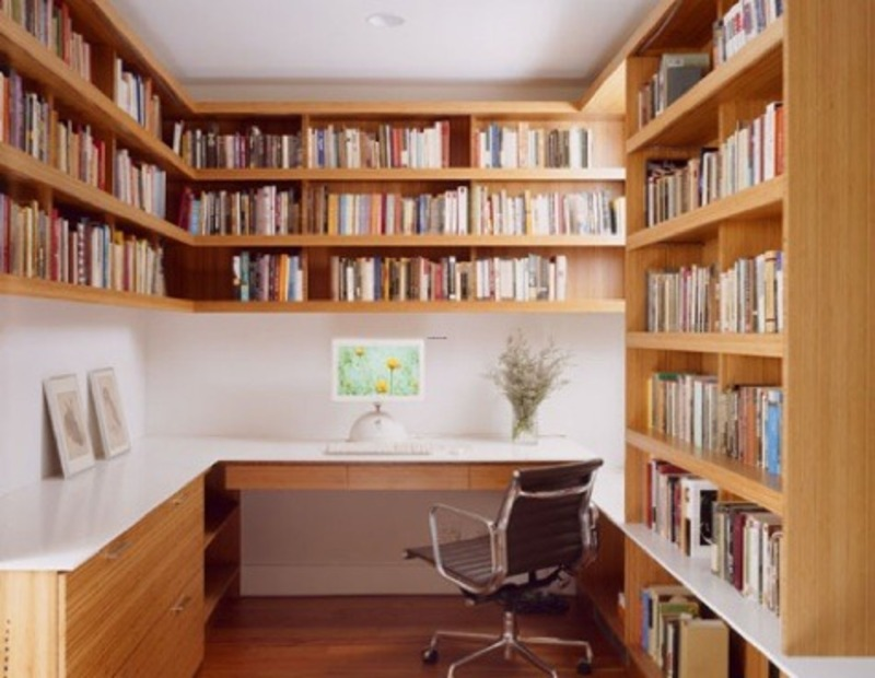 7 ways to make your small home office big smooth decorator - Creating a small home office ...