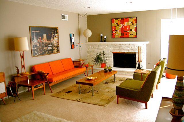 1960s interior design trends the image for Home decor 1960s