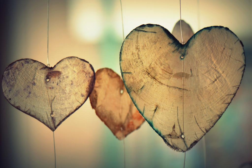 Heart themed home