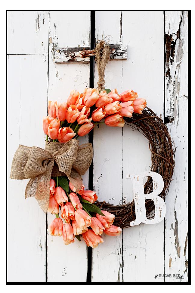 handmade-spring-tulip-wreath
