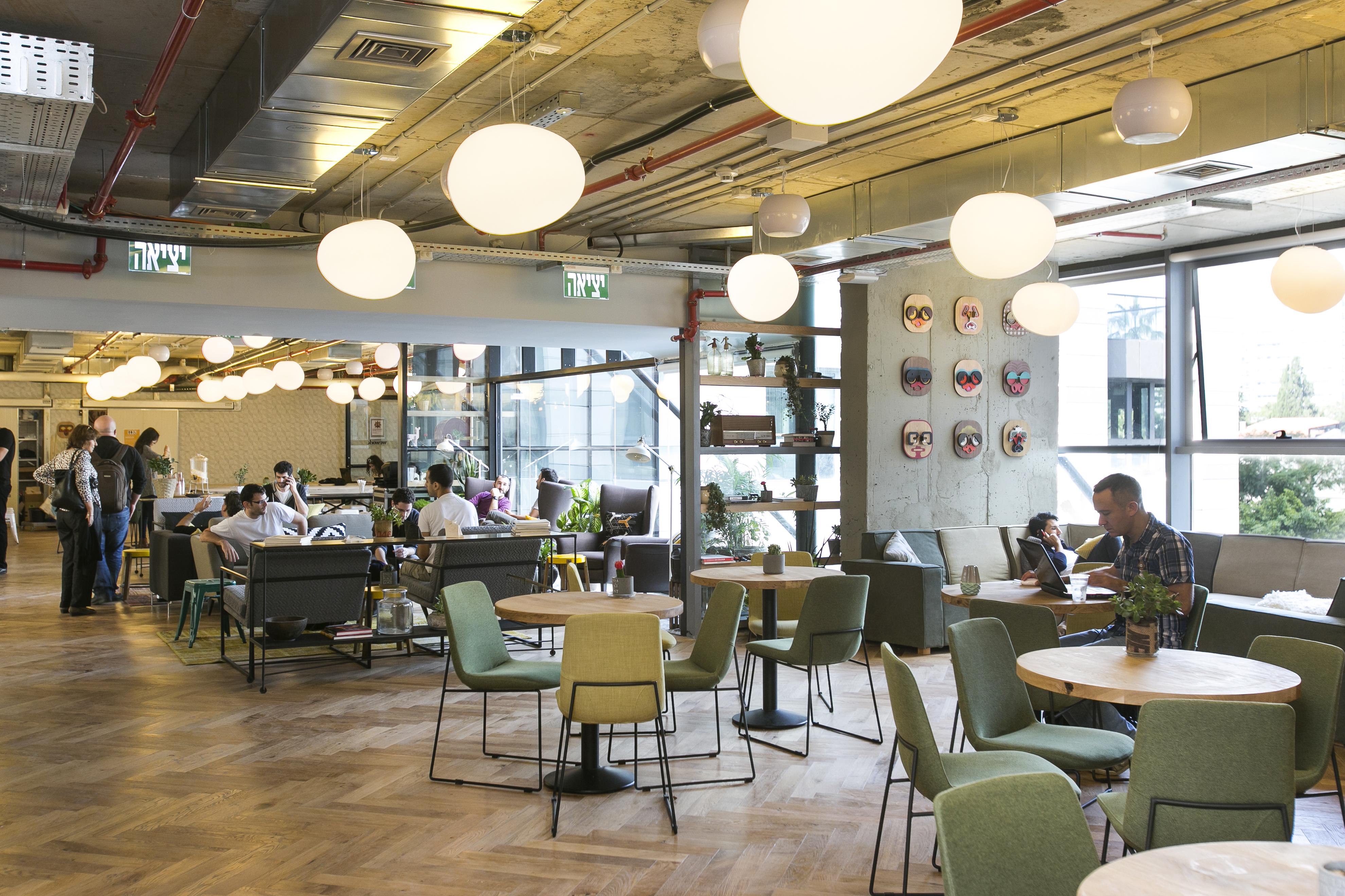 trendy office. Bat Haus, New York Trendy Office P