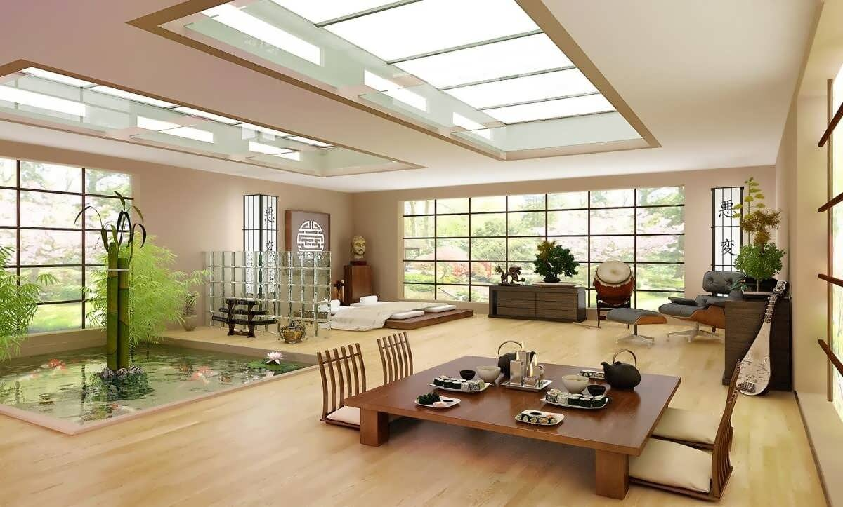 How to add touches of japan to your home design