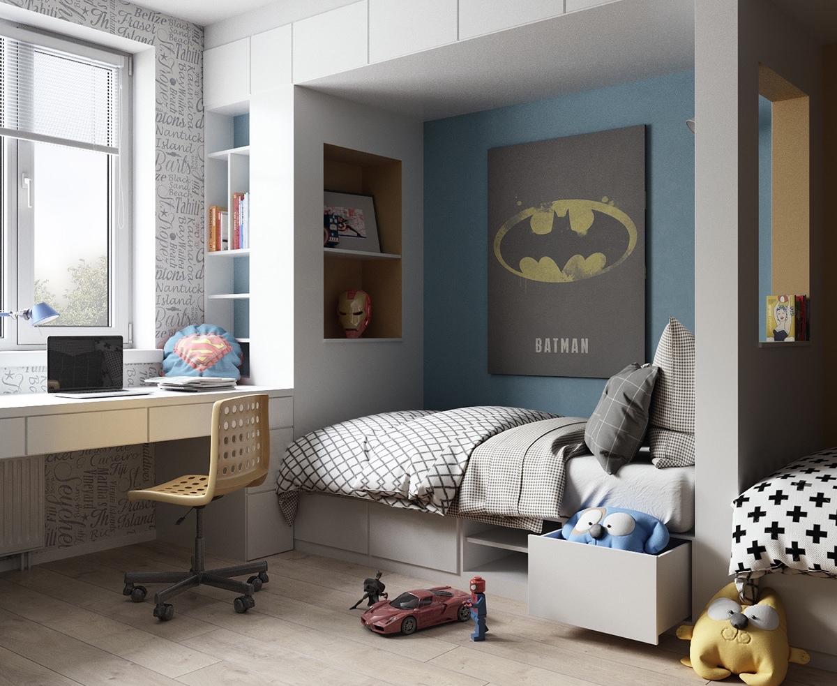 5 ideas for decorating a superherothemed kids' bedroom